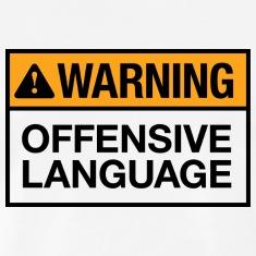 Warning-Offensive-Language-T-shirt