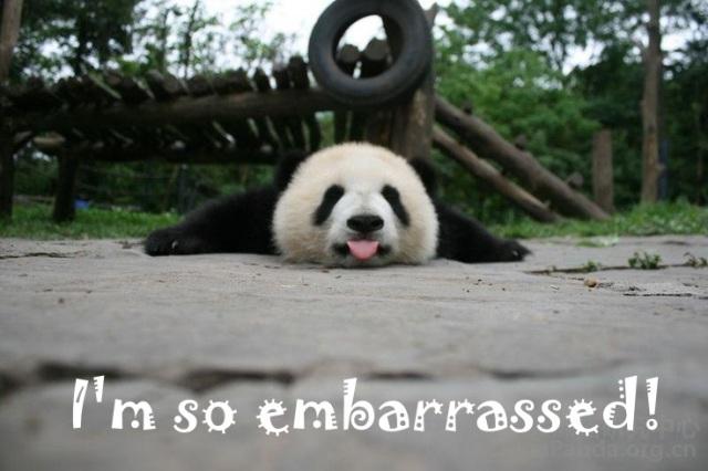 embarassed
