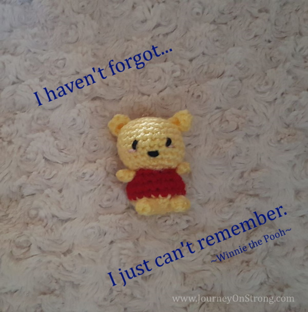 I don't remember